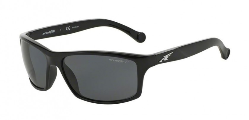 ccc2f31055 Arnette 0AN4207 BOILER 41/81 Black - Grey Polarized