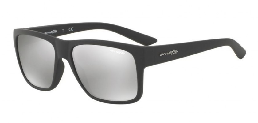 6ecca808a63 Arnette 0AN4226 RESERVE 5381 6G Matte Dark Grey - Light Grey Mirror Silver