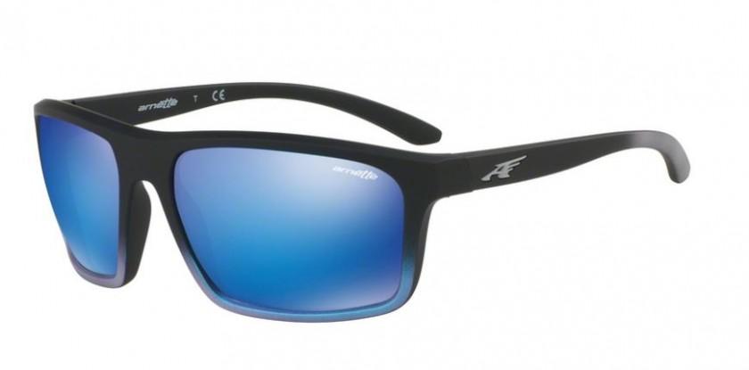 56a59f7fb6e Arnette 0AN4229 SANDBANK 242725 Black Gradient Shot Blue - Green Mirror  Light Blue
