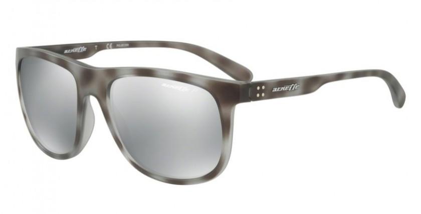 ccababd5c45 Arnette 0AN4235 CROOKED GRIND 2462Z3 Matte Grey Havana - Grey Mirror Silver  Polarized