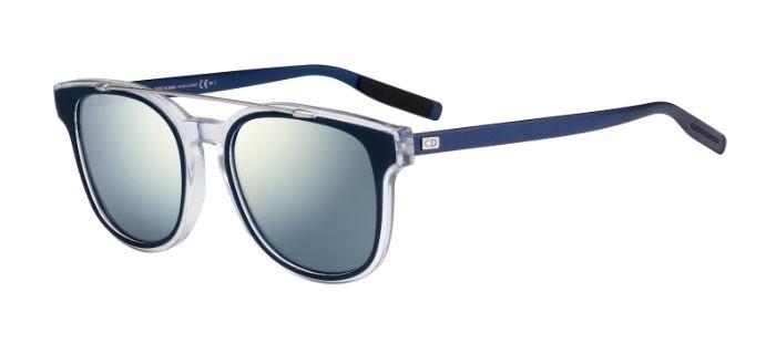 5771343e3a4 CHRISTIAN DIOR HOMME BLACKTIE211S LCU (T7) Blue Crystal Palladium - Blue  Mirror
