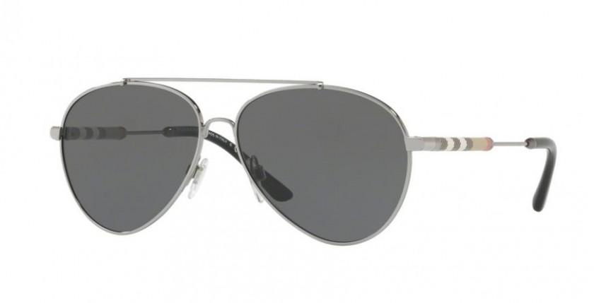 d07ac55f332 Burberry 0BE3092Q 100387 Gunmetal - Grey