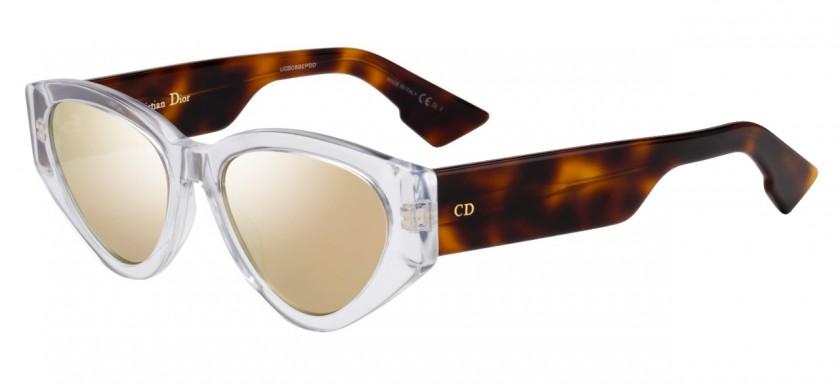 b5f0b2ada Christian Dior DIORSPIRIT2 086/0J White Dark Havana - Gold Mirror