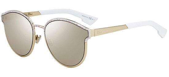 84a798efdf8 Christian Dior DIORSYMMETRIC GBZ (QV) Gold Matte White Marble - Light Gold