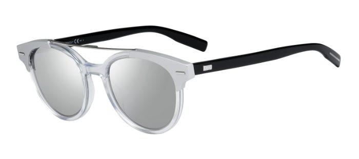 f76c3c0e83553 CHRISTIAN DIOR HOMME BLACKTIE220S T6E (SS) Crystal Black - Grey Silver  Mirror
