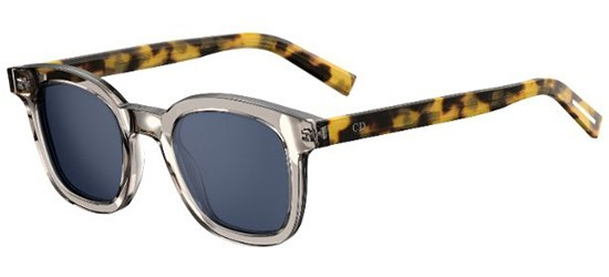 685c780077 Dior Homme BLACKTIE219S QYX (A9) Transparent Brown Blonde Havana - Blue