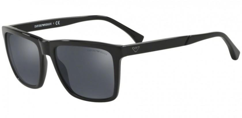 a1293f9805a Emporio Armani 0EA4117 50176G Black - Grey Mirror Black