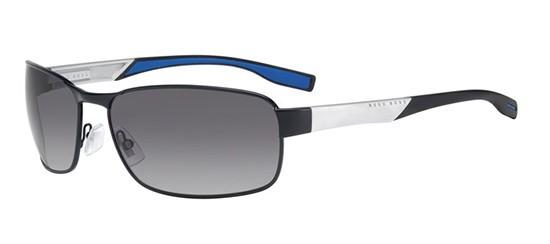 281619e31e Boss - Hugo Boss BOSS 0569 P S dark ruthenium white black blue