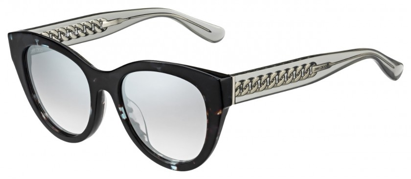 84f513836f43 Jimmy Choo CHANA S 676 (IC) Havana Gray - Gray Gradient Mirror