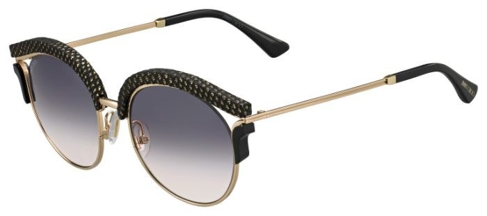 7ac3ec43a35 Jimmy Choo LASH S PSW (9C) Gold Black Metal - Dark Grey Gradient