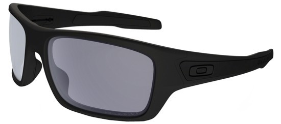 87356011fcb38 Oakley ACTIVE 0OO9263 TURBINE 926307 Matte Black - Grey Polarized