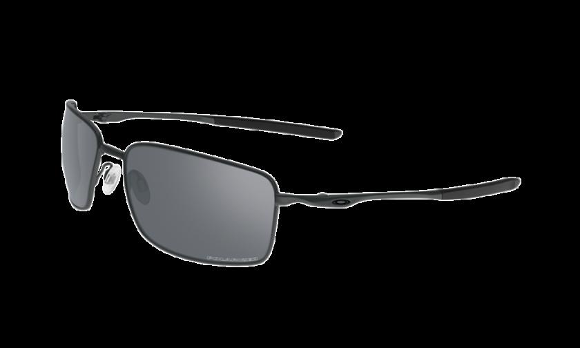 e5934e0fefe Oakley Polarized Square Wire 4075-04 - Carbon   Gray Polarized