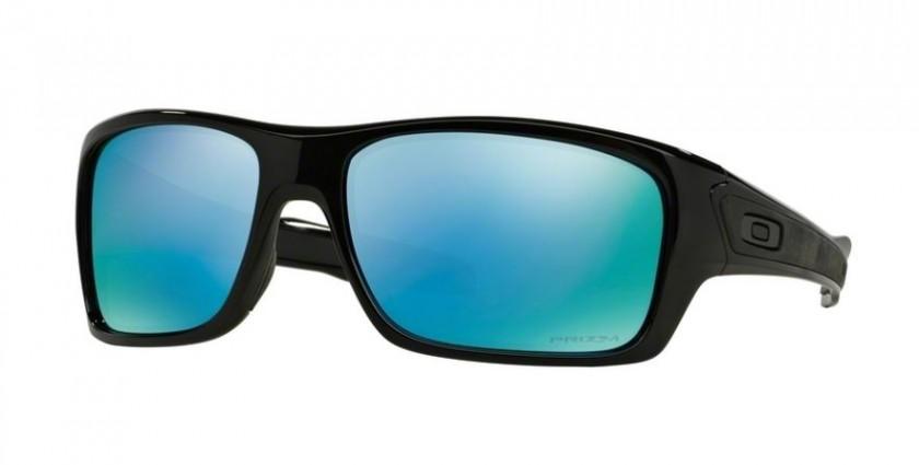 3a0a5c32f0 Oakley ACTIVE 0OO9263 TURBINE 926314 Polished Black - Prizm Deep h20  Polarized
