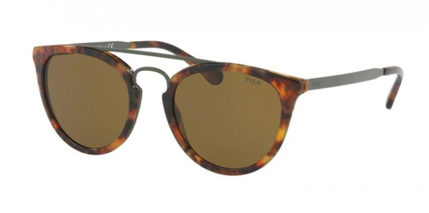 733522022ff3 Polo Ralph Lauren 0PH4121 501773 Shiny Havana Jerry - Olive