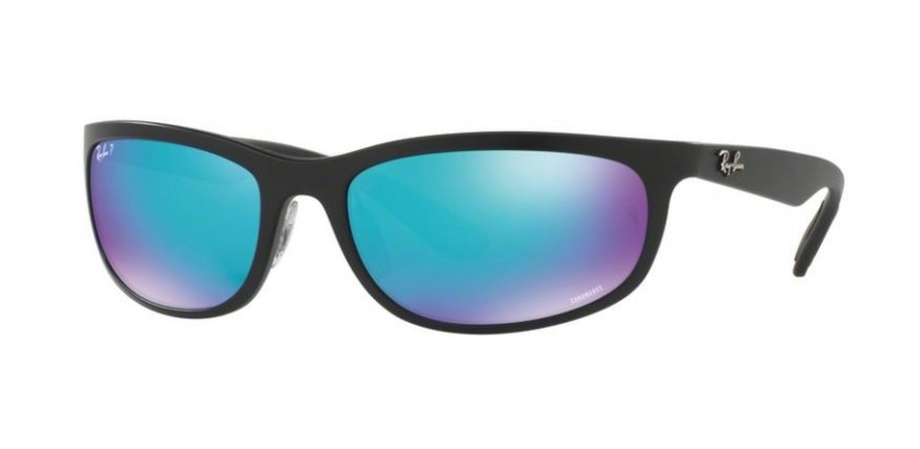 Ray Ban 0RB4265 601SA1 Matte Black - Blue Polarized Flash 5debf7253c1b