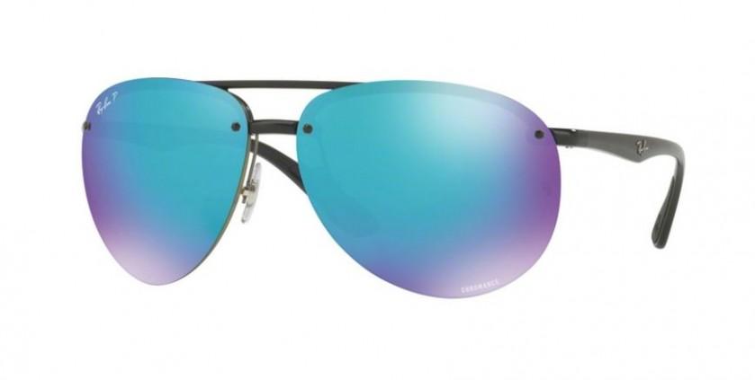 efa39b8d81f Ray Ban 0RB4293CH 601 A1 Black - Green Mirror Blue Polarized