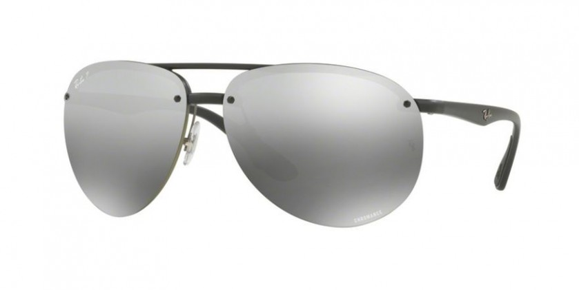 4a3b7e81e3 Ray Ban 0RB4293CH 601S 5J Matte Black - Grey Mirror Grey Gradient Polarized