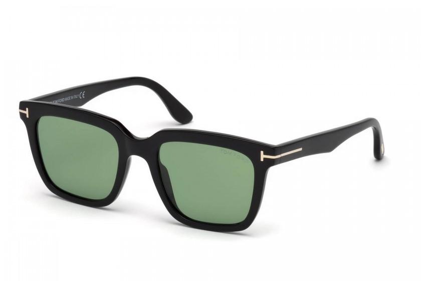 54037e00a7a6a Tom Ford FT0646 MARCO-02 01N Black - Green