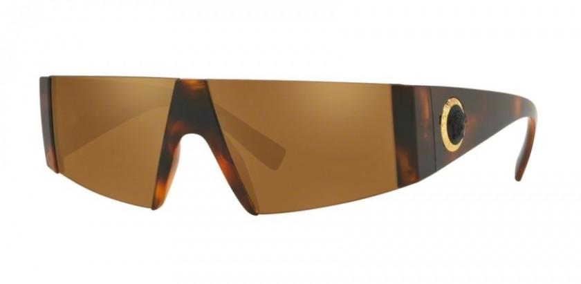 f1237ea4fc9b16 Versace 0VE4360 52176H Havana - Brown Mirror Gold