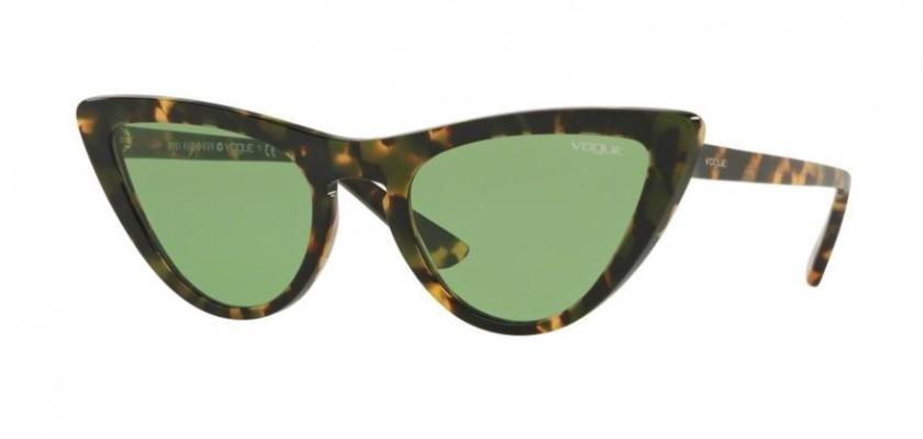 7eb2960fd0 Vogue 0VO5211S 2073 2 Tortoise Brown - Dark Green