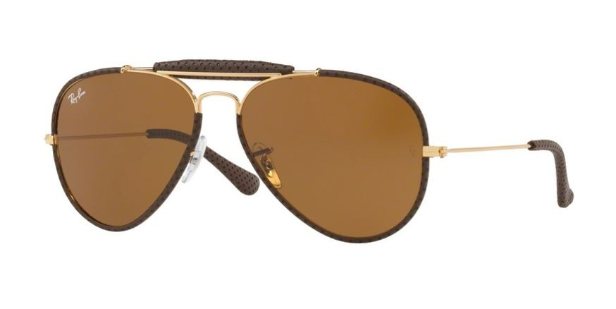 9041 Leather Craft Brown Ban Ray Aviator 0rb3422q Fc3TK1lJ