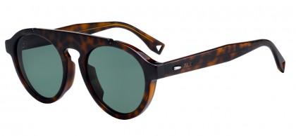FENDI Fendi Herren Sonnenbrille » FF M0012/S«, grau, KB7/QT - grau/grün