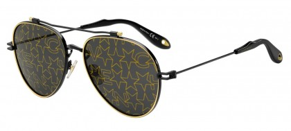 GIVENCHY Givenchy Sonnenbrille » GV 7074/S«, braun, 086/QT - braun/grün