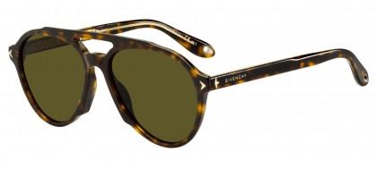 GIVENCHY Givenchy Herren Sonnenbrille » GV 7075/S«, schwarz, 003/70 - schwarz