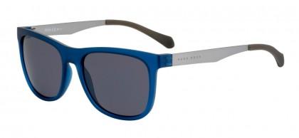 Boss Herren Sonnenbrille » BOSS 0868/S«, blau, 05E/T4 - blau/schwarz