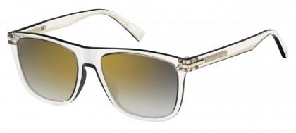MARC JACOBS Marc Jacobs Damen Sonnenbrille » MARC 165/S«, weiß, 2M1/IC - weiß/ silber