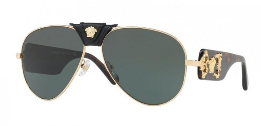 Versace 0VE2150Q 100271 Gold - Grey Green ef9b3bf35ae0