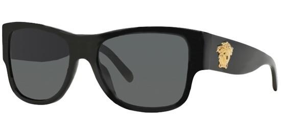 07556548d Óculos de Sol Versace ROCK ICONS MEDUSA VE 4275 GB1/87 Black - Gray ...